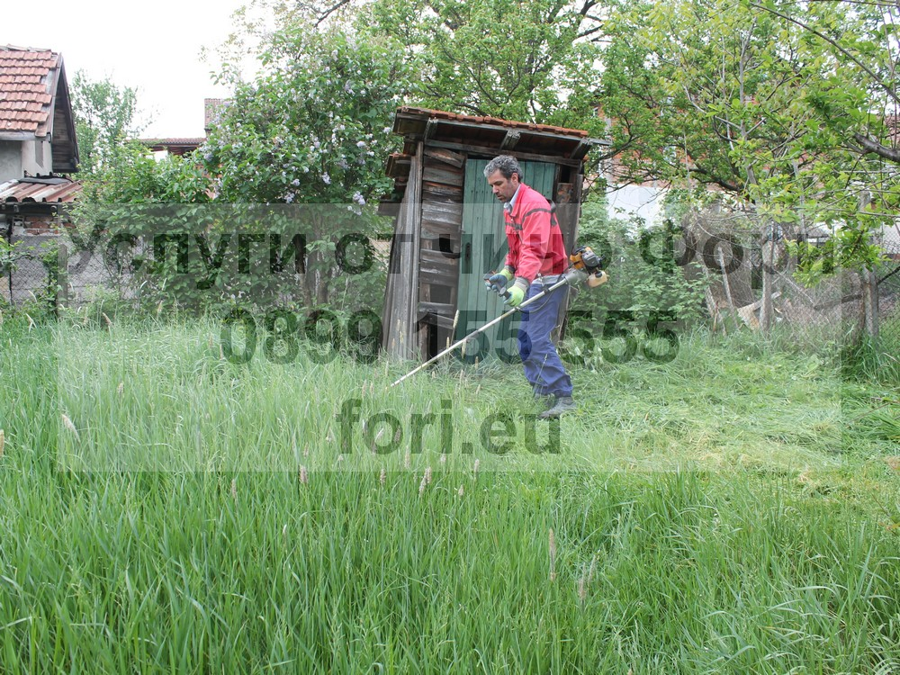 Почистване на дворове с Чичо Фори в София